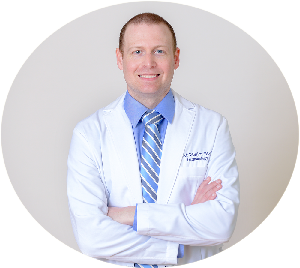 Nick Woltjen, PA-C at Ocean Drive Plastic Surgery